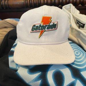 Gatorade white corduroy SnapBack
